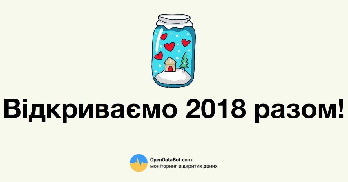 Підсумки року від Opendatabot