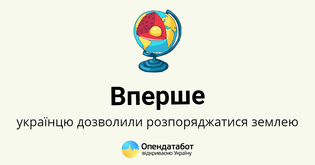 Украинец отстоял право обменять землю благодаря решению ЕСПЧ