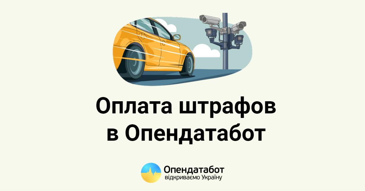 Ежемесячно 30 тысяч украинцев попадают в реестр должников из-за штрафов за нарушение ПДД